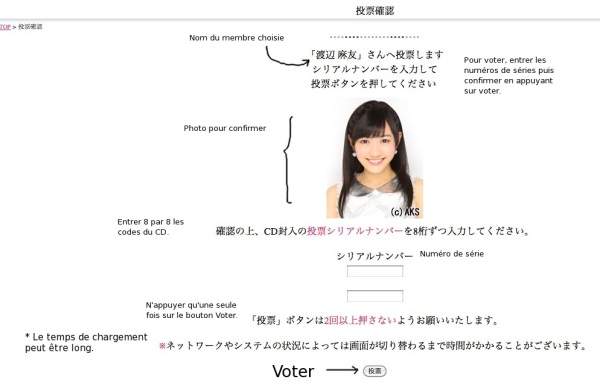 Voter pour