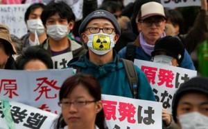 nucléaire japon manifestation