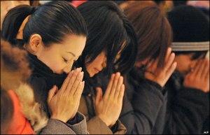 prières japon temple