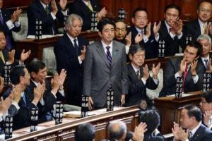 Le retour de Shinzo Abe sur le devant de la scène.
