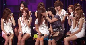 SNSD crying