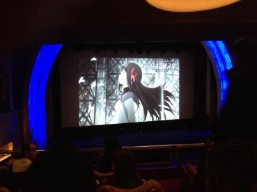 mahou shoujo madoka magica film movie 3 hangyaku no monogatari rebellion placement dans la salle du grand rex